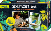 Schnitzset Boot Nature Zoom