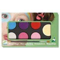 Kinderschminken: Palette 6 Farben - Sweet *