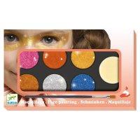 Kinderschminken: Palette 6 Farben - Metallic