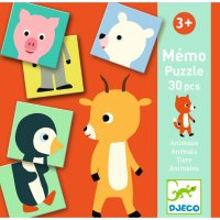 Lernspiel Memo Animo-puzzle