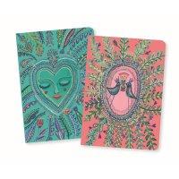 2 Notizbücher Love Aurélia (DinA6+)